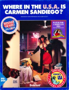 Where in the World Is Carmen Sandiego? (Enhanced) cover