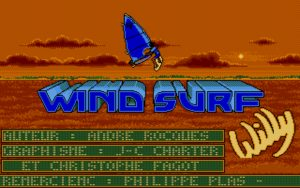 Windsurf Willy title screen