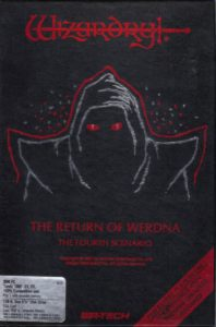 Wizardry: The Return of Werdna cover