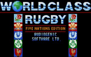 World Class Rugby Five Nations Edition Title screen