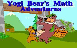 Yogi Bear's Math Adventures Title screen